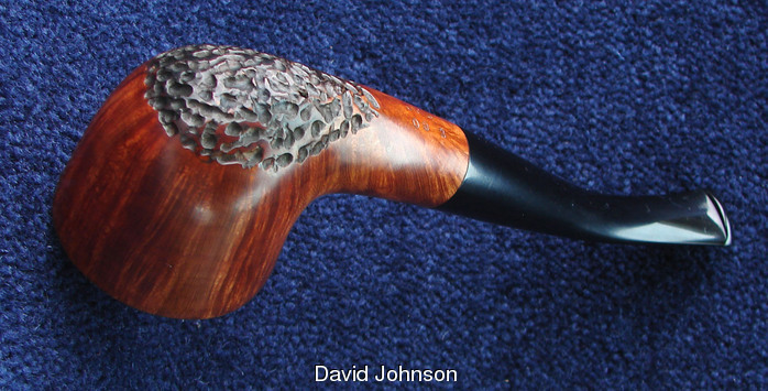 David Johnson smooth/rust Johnson_smooth_candle_snuffer_3