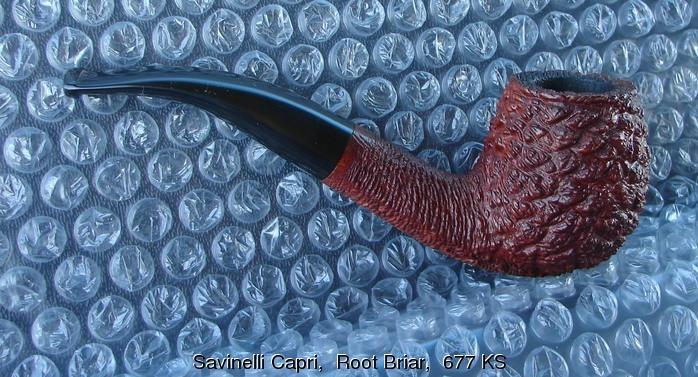 Four Savinelli Savinelli_capri_root_briar_677_ks_1